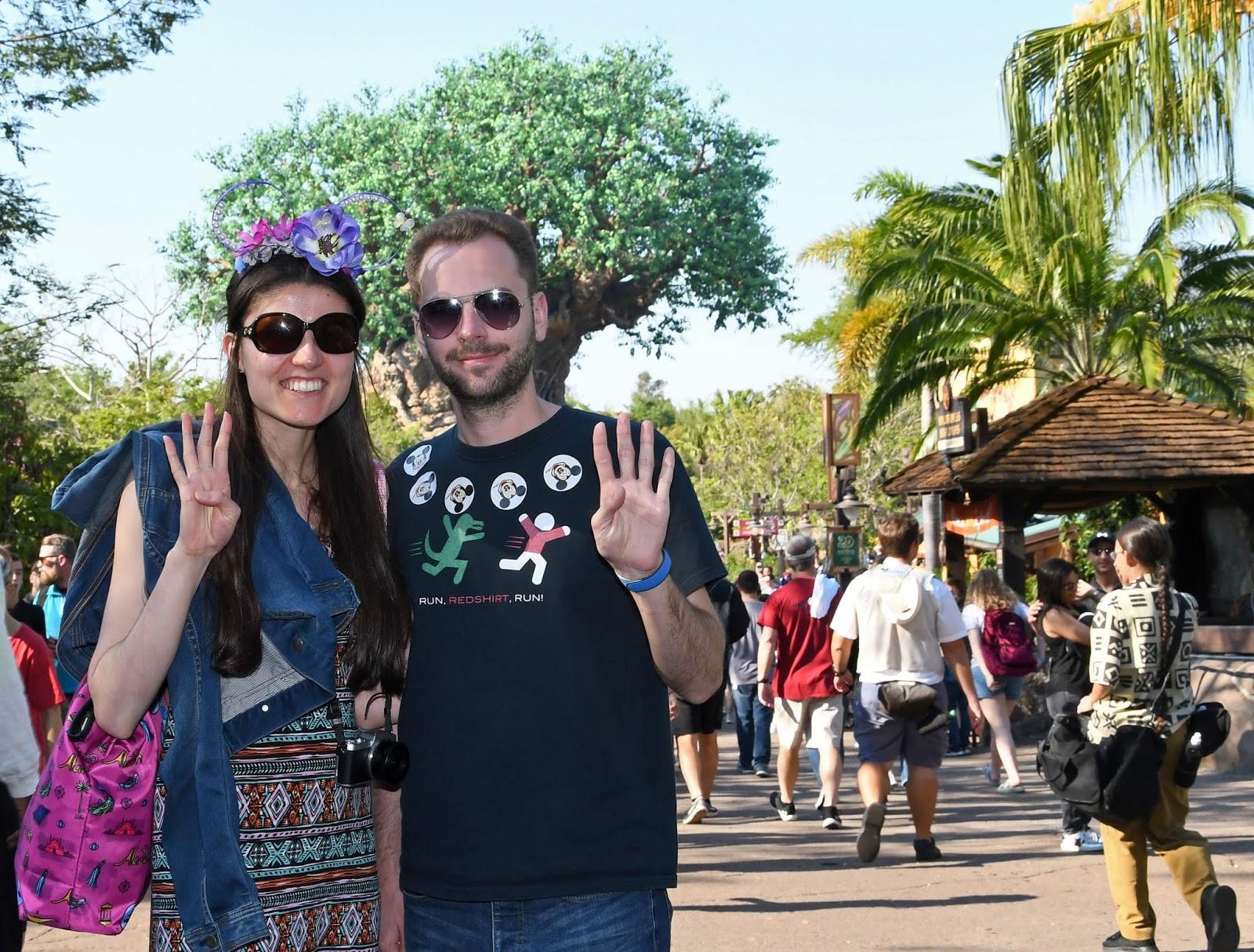 Our final park of the Walt Disney World 4 park challenge: Animal Kingdom
