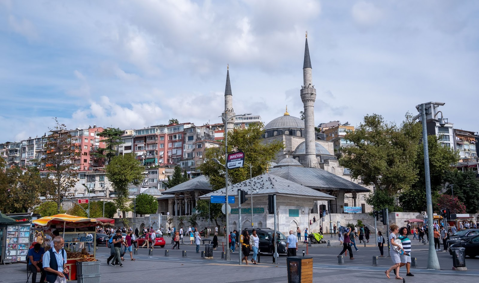 Arriving on the Asian side of Istanbul, Turkey