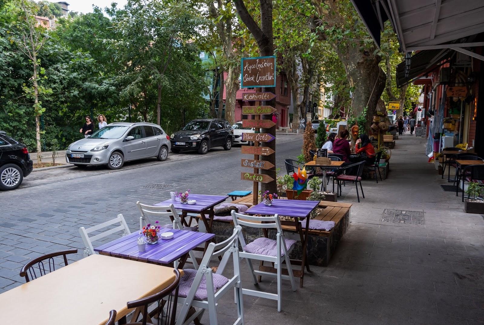 Cafe culture in Kuzguncuk, Istanbul