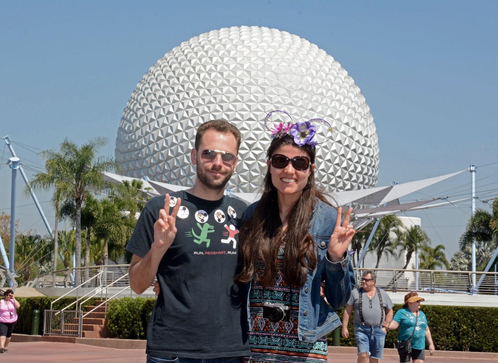Our second park of the Walt Disney World 4 park challenge: Epcot