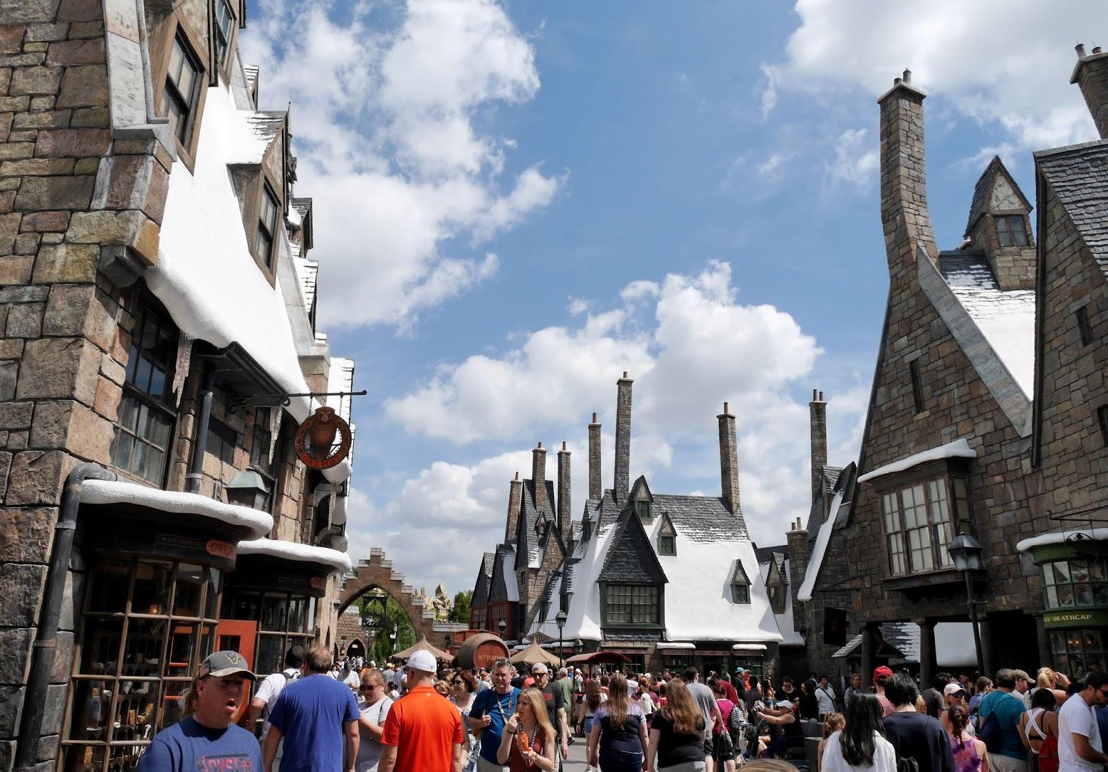 Hogsmeade Village at Universal Studios Orlando