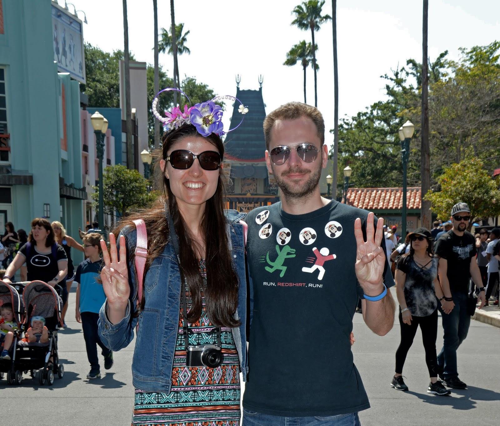 Our third park of the Walt Disney World 4 park challenge: Hollywood Studios