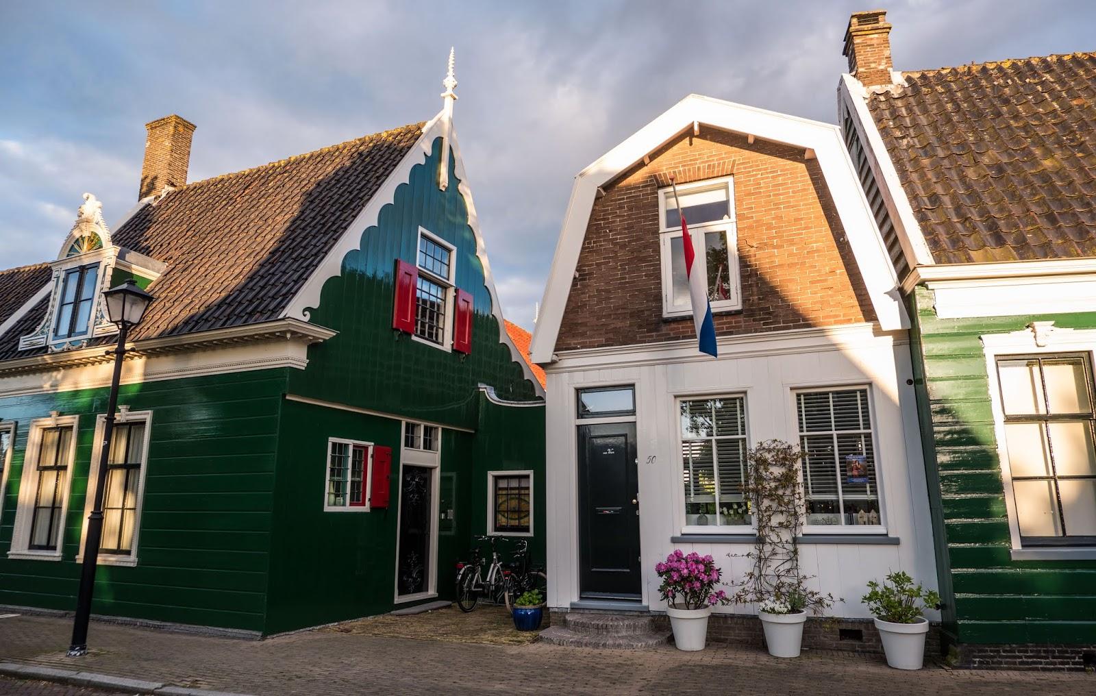 Houses in Zaandijk, The Netherlands