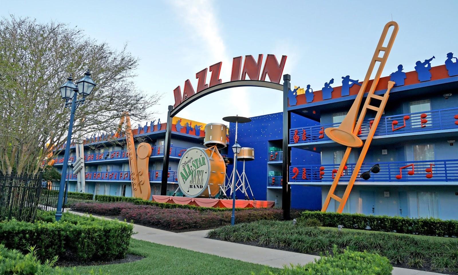 Jazz Inn at Disney's All Star Music resort, Florida
