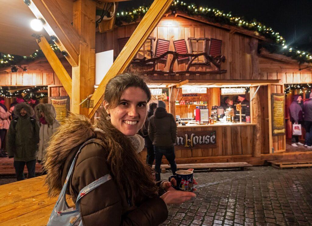 Kat Last at the Copenhagen Christmas Markets