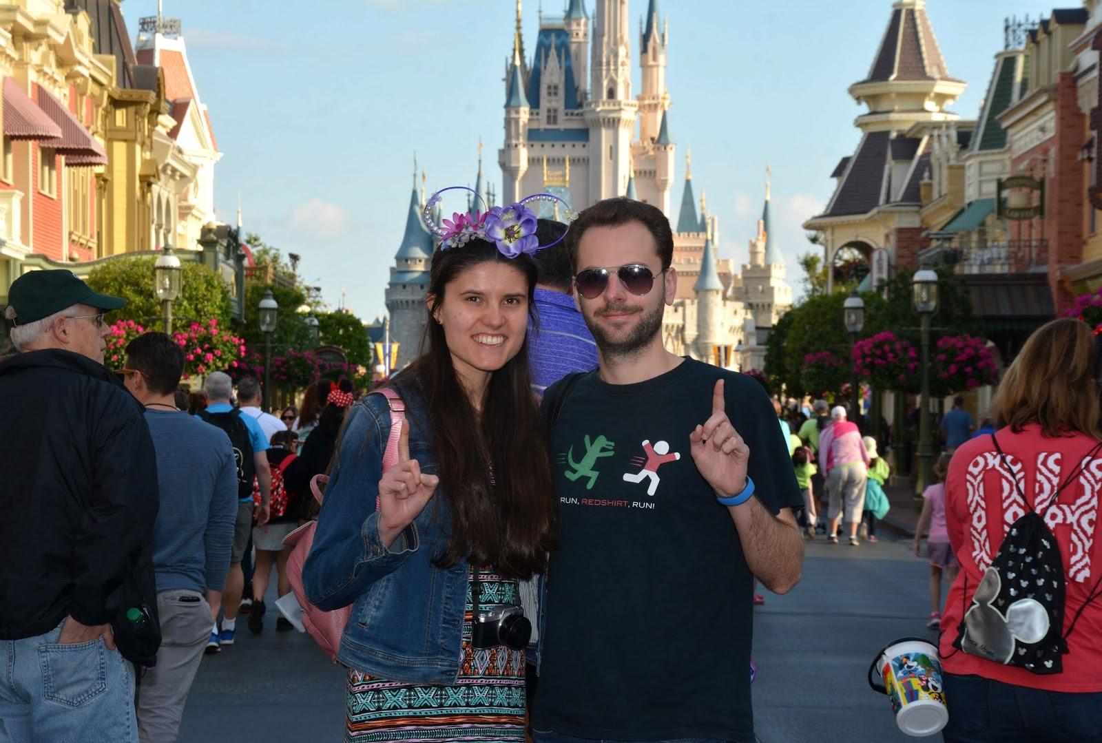 Our first park of the Walt Disney World 4 park challenge: Magic Kingdom
