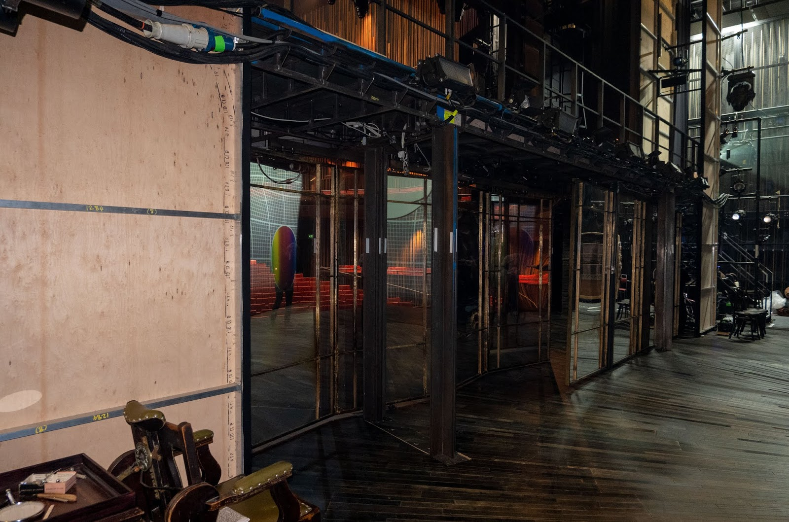 The Measure For Measure set at The Marlowe Theatre, Canterbury