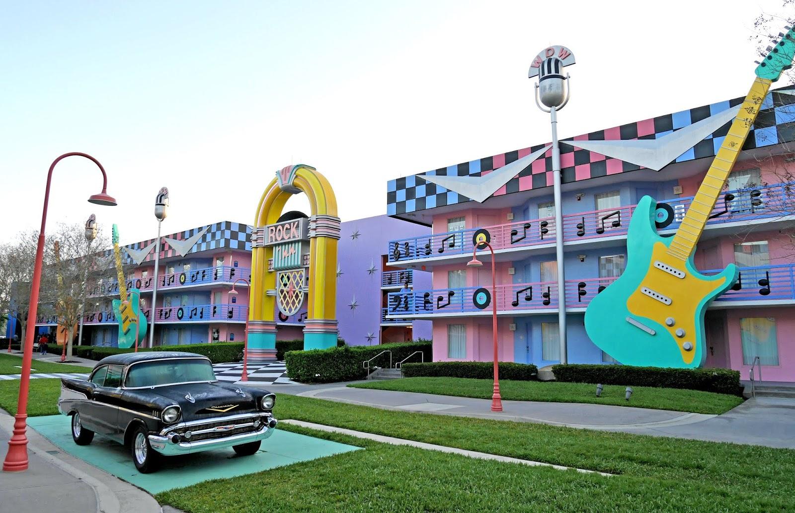 Rock Inn at Disney's All Star Music resort, Florida