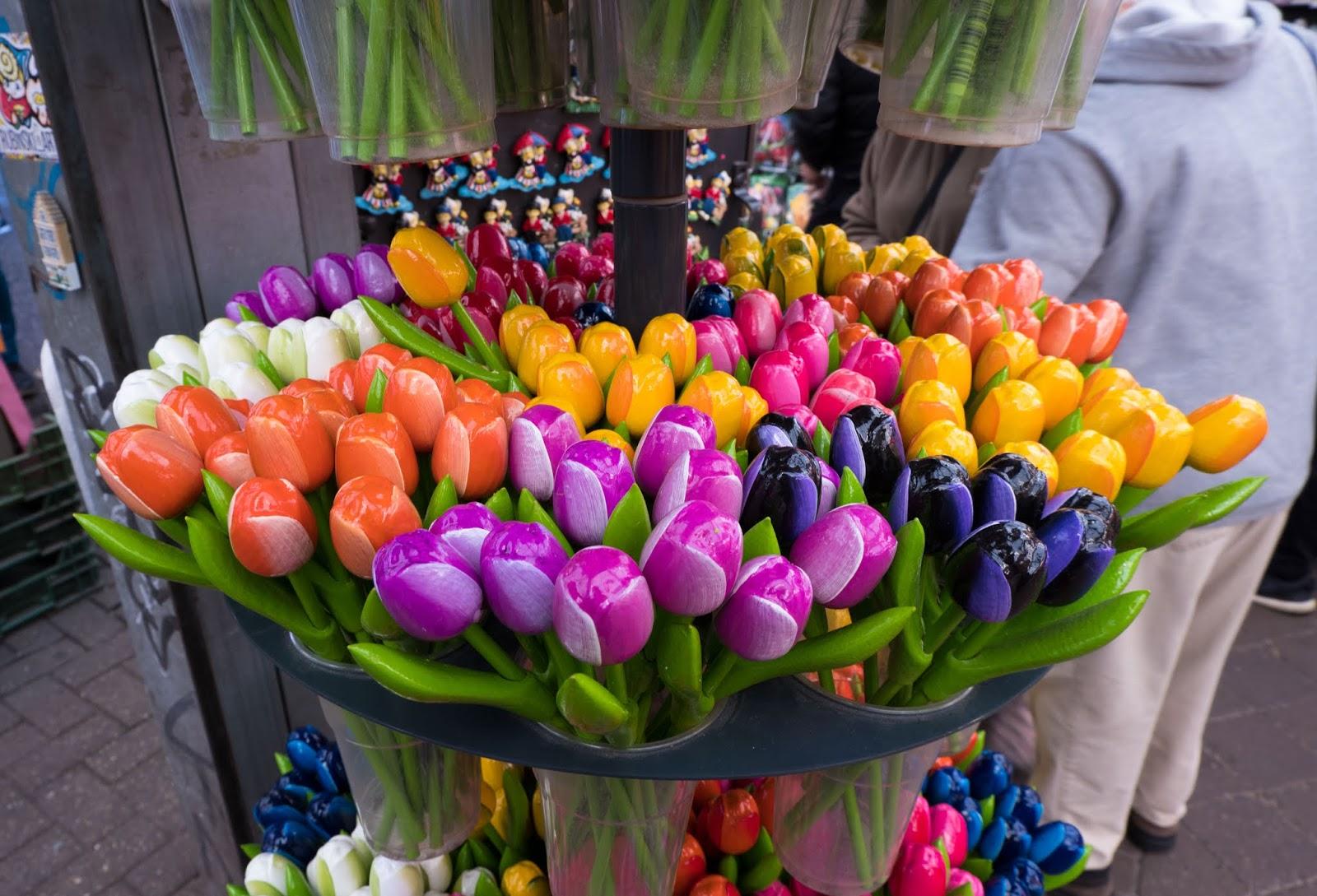 Everlasting tulips at Amsterdam Flower Market
