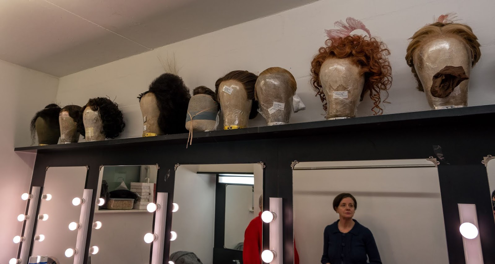 Measure For Measure wigs at The Marlowe Theatre