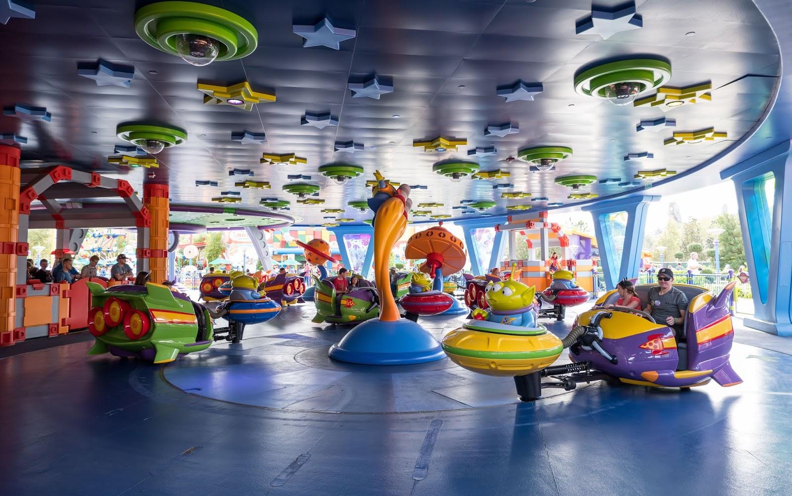 Alien Swirling Saucers at Disney's Hollywood Studios, Walt Disney World