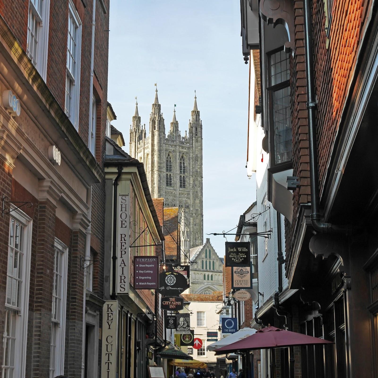 Butchery Lane in Canterbury, Kent