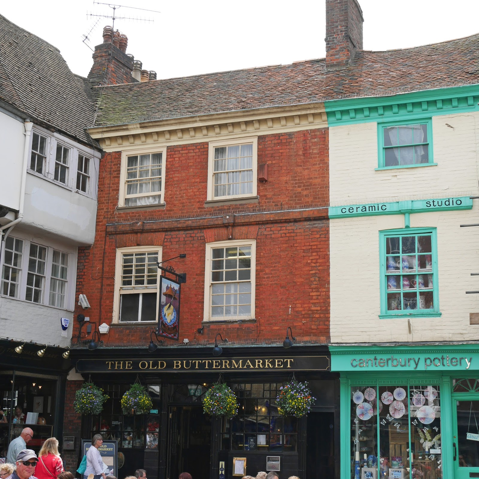 The Old Buttermarket on Burgate in Canterbury, Kent