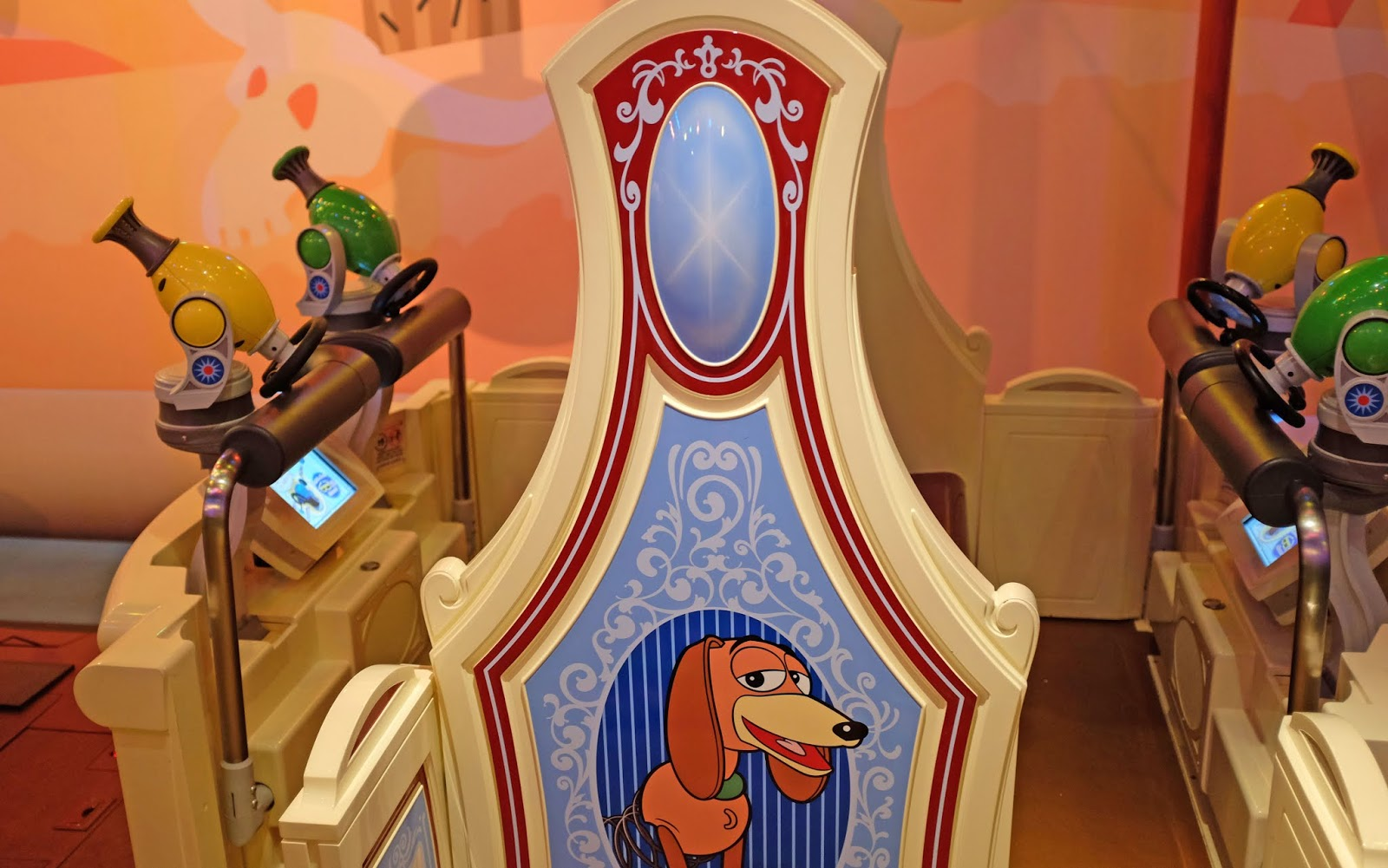 Toy Story Midway Mania ride at Hollywood Studios, Walt Disney World